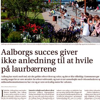 Aalborgs succes giver ikke anledning til at hvile på laurbærrene