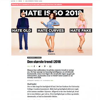 Den største trend i 2018