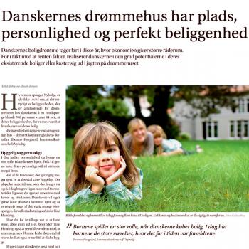 Danskernes drømmehus har plads personlighed og perfekt beliggenhed