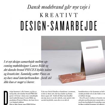 Dansk modebrand går nye veje i kreativt design-samarbejde
