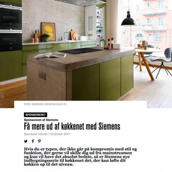 Få mere ud af køkkenet med Siemens
