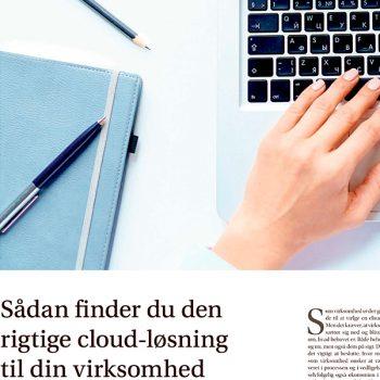 Sådan finder du den rigtige cloud-løsning til din virksomhed
