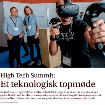 High Tech Summit: Et teknologisk topmøde