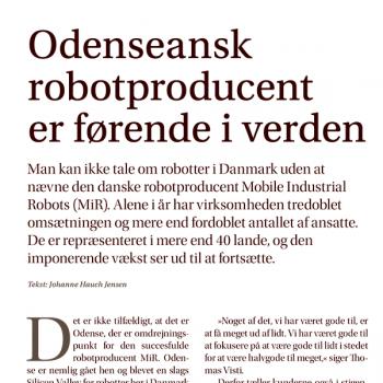 Odenseansk robotproducent er førende i verden