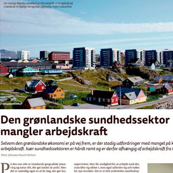 Den grønlandske sundhedssektor mangler arbejdskraft